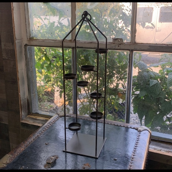 Lovely Tall Partylite Candle Lantern